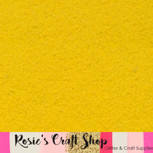Old Gold Wool Blend Felt - Rosie's Craft Shop Ltd