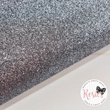 Grey Glitter Iron On Vinyl HTV - Rosie's Craft Shop Ltd