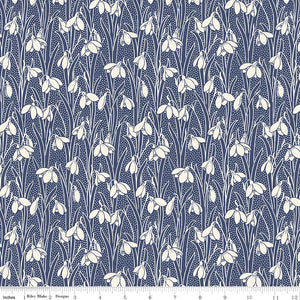 Hesketh Dark Blue - Liberty Hesketh House Collection