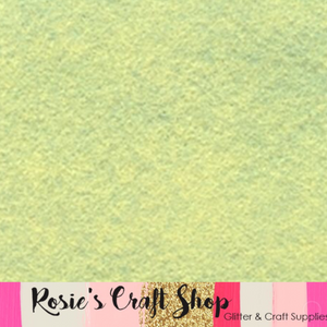 Pistachio Ice Cream Wool Blend Felt - Rosie's Craft Shop Ltd