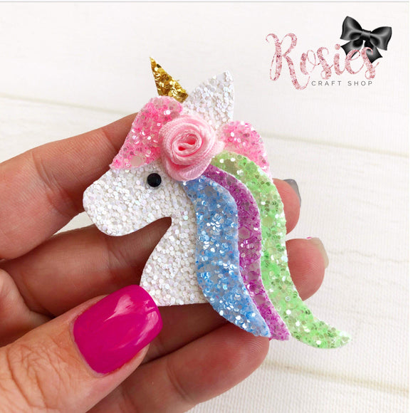 Unicorn Horse Plastic Template