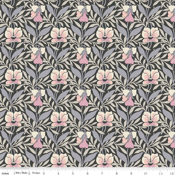 Harriet's Pansy Pink - Liberty Hesketh House Collection