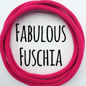 Fabulous Fuchsia - Dainties by Nylon Headbands - Rosie's Craft Shop Ltd