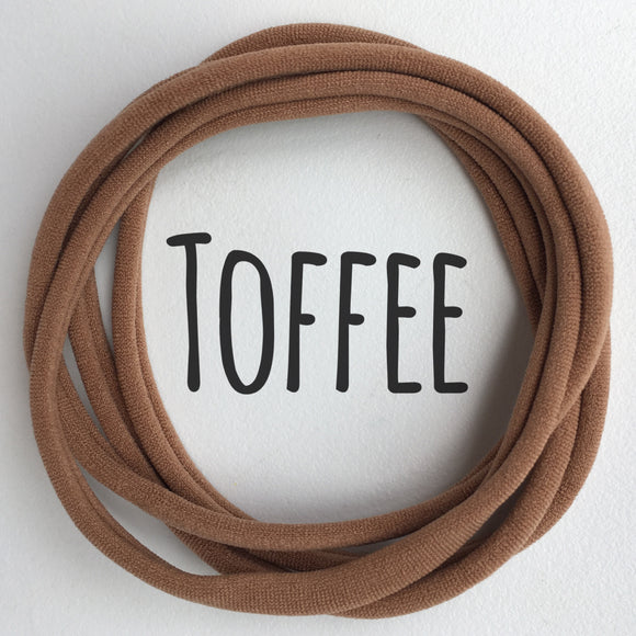 Toffee - Dainties by Nylon Headbands - Rosie's Craft Shop Ltd