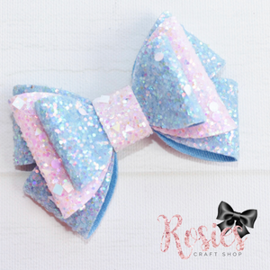 Butterfly Loop Bow Plastic Template
