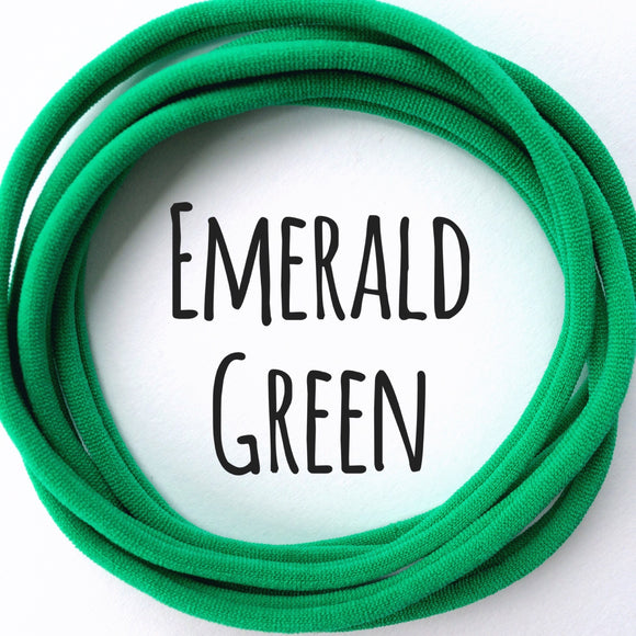 Emerald Green - Dainties by Nylon Headbands - Rosie's Craft Shop Ltd