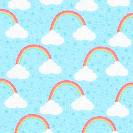 Blue Cloud - Chasing Rainbows - Robert Kaufman Cotton Fabric