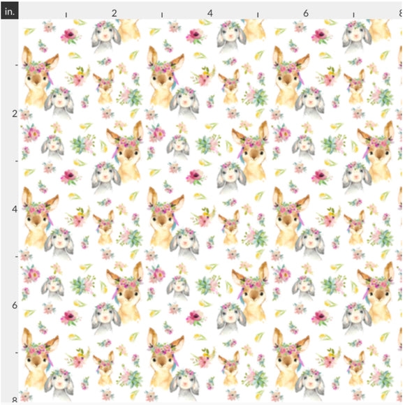 Bunny and Friends Artisan Fabric Felt - Rosie's Craft Shop Ltd