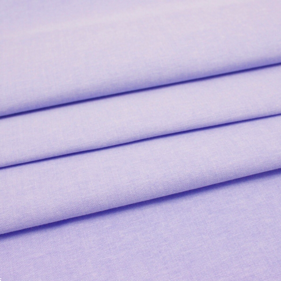 Lilac Plain Chambray Cotton Fabric - Rosie's Craft Shop Ltd