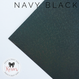 Navy Black Holographic Sparkle Iron On Vinyl HTV - Rosie's Craft Shop Ltd