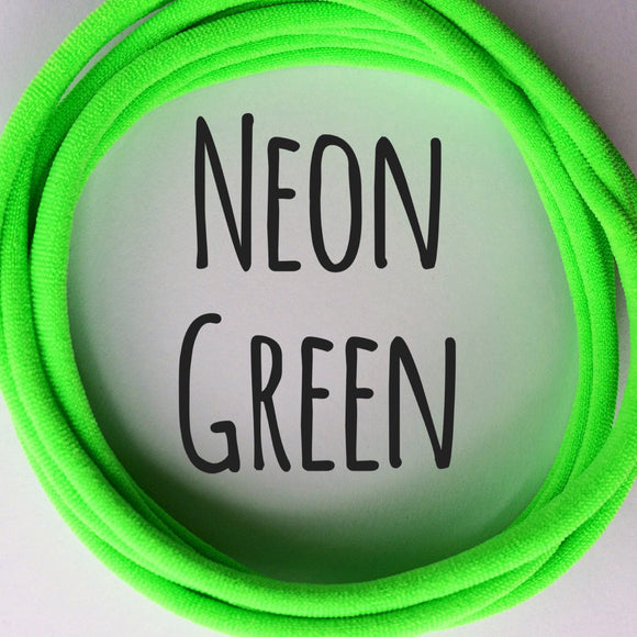 Neon Green - Dainties by Nylon Headbands - Rosie's Craft Shop Ltd