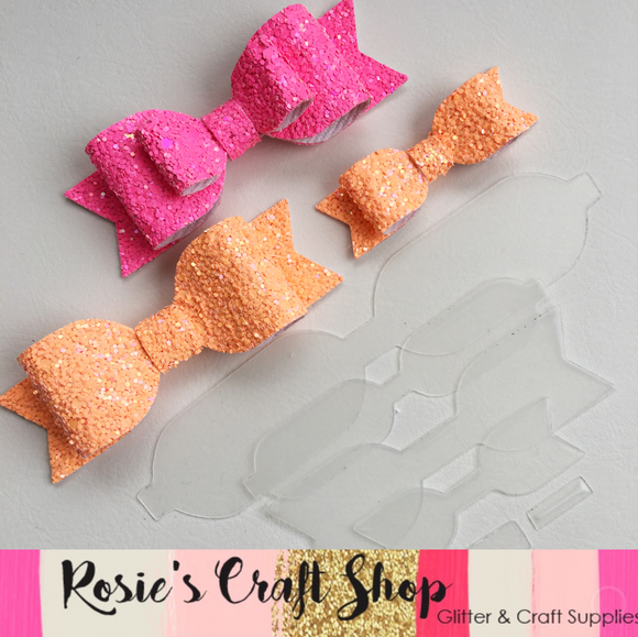 Classic Bow Plastic Template - Rosie's Craft Shop Ltd