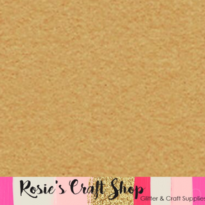 Camel Wool Blend Felt - Rosie's Craft Shop Ltd