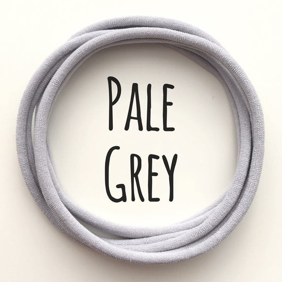 Pale Grey - Dainties by Nylon Headbands - Rosie's Craft Shop Ltd