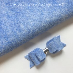Spellbound Sapphire Wool Blend Felt - Rosie's Craft Shop Ltd
