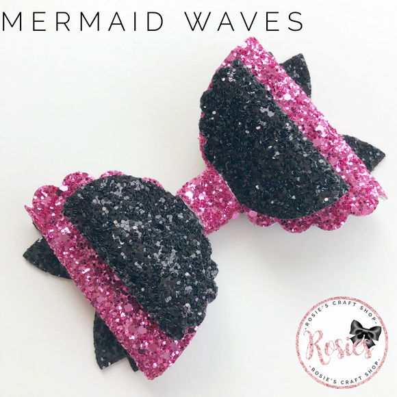 Mermaid Waves Bow 5