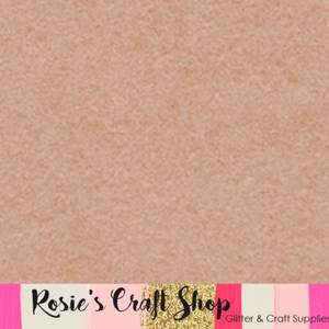 Cameo Pink Wool Blend Felt - Rosie's Craft Shop Ltd