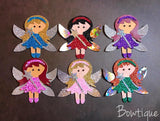 Basic Fairy Plastic Template - Rosie's Craft Shop Ltd