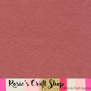Pretty In Pink Wool Blend Felt - Rosie's Craft Shop Ltd
