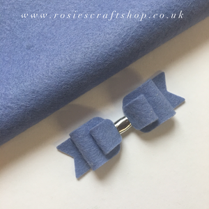 Periwinkle Wool Blend Felt - Rosie's Craft Shop Ltd