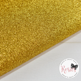 Gold Glitter Iron On Vinyl HTV - Rosie's Craft Shop Ltd