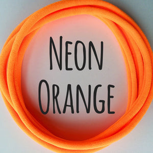 Neon Orange - Dainties by Nylon Headbands - Rosie's Craft Shop Ltd