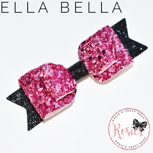 "Ella Bella Bow 3.5"" / 9cm - Rosie's Craft Shop Ltd"
