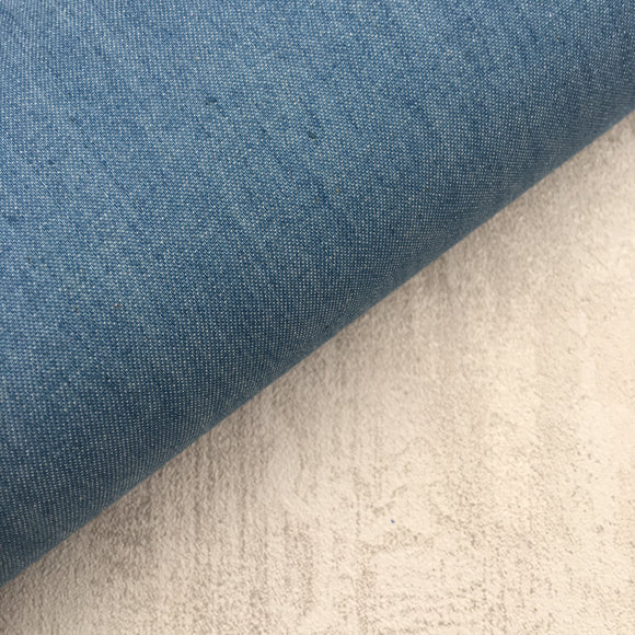 Light Blue Chambray Cotton Denim Fabric Felt - Rosie's Craft Shop Ltd