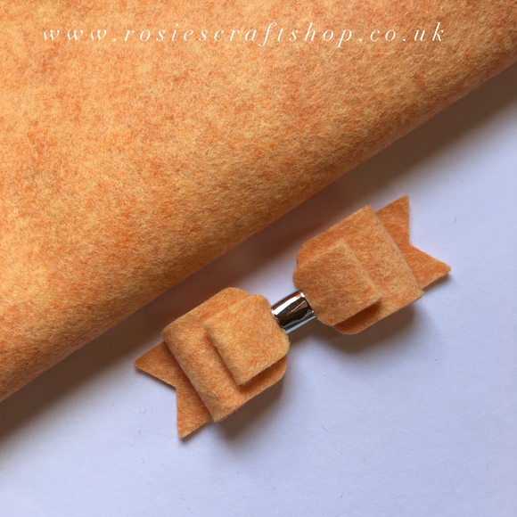 Terracotta Mist Wool Blend Felt - Rosie's Craft Shop Ltd