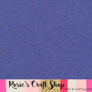 Bluer Than Blue Wool Blend Felt - Rosie's Craft Shop Ltd