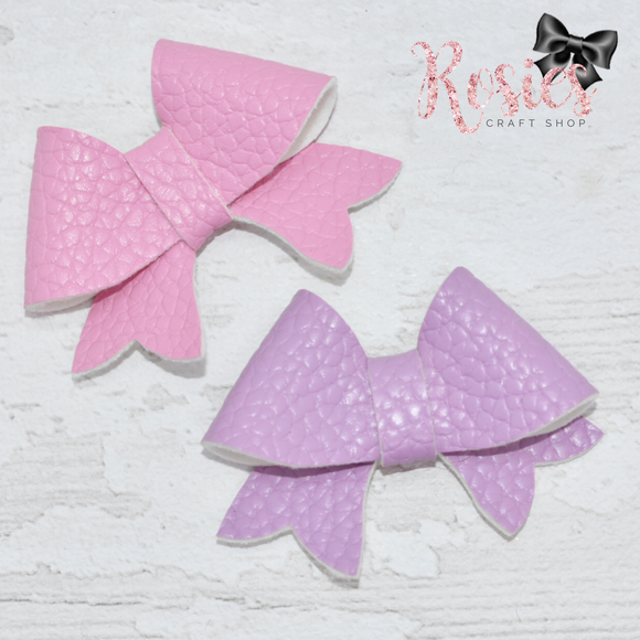 Sweetheart Bow Plastic Template