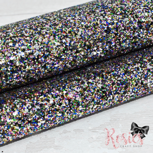 Party Popper Chunky Glitter Fabric - Luxury Core Collection