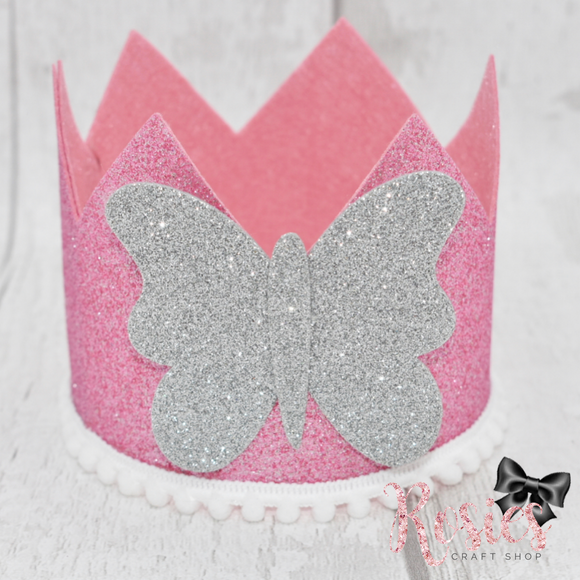 Large Tall Princess Crown Plastic Template