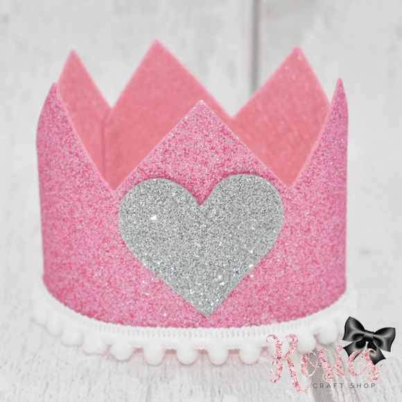 Princess Crown Plastic Template