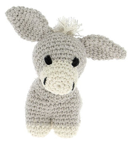 Joe the Donkey DIY Crochet Kit - Rosie's Craft Shop Ltd