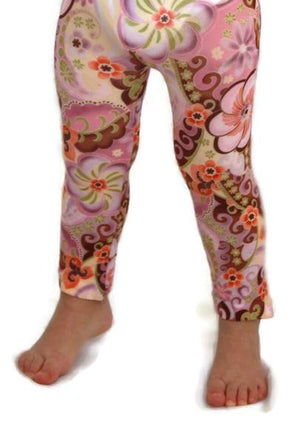 Celeste Stein Kids Couture Sublimation Printed Footless Tights - My Legwear Shop