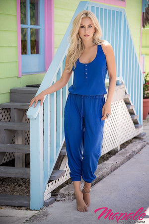 Bolero Style Jumpsuit - Mapale Resort & Swim - My Legwear Shop