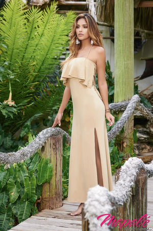 Convertible Strapless Glamour Beach Cover Up Dress  - Mapale Resort & Swim