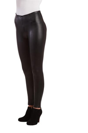 Nygard Luxe Faux Leather E4 Legging  - Nygard Slims - My Legwear Shop