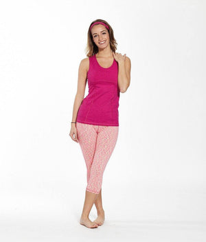 Tess Capri Premium Fit Legging - Slymwear (Assorted Colors) - My Legwear Shop