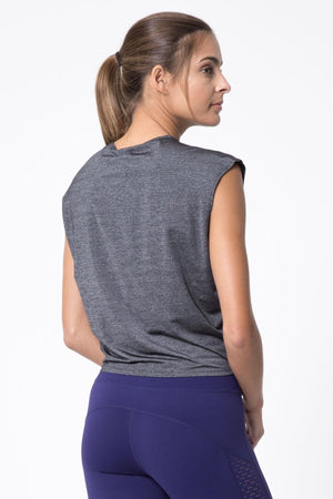 Swiftly Silver Thread Active Tee - MPG Sport - My Legwear Shop