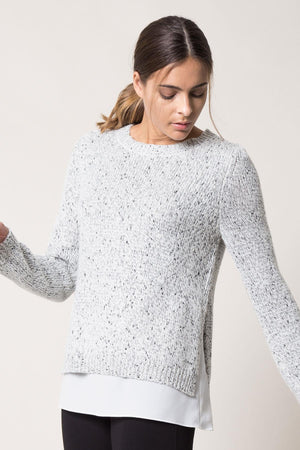 Flurry Stretch Wool Sweater - MPG Sport - My Legwear Shop