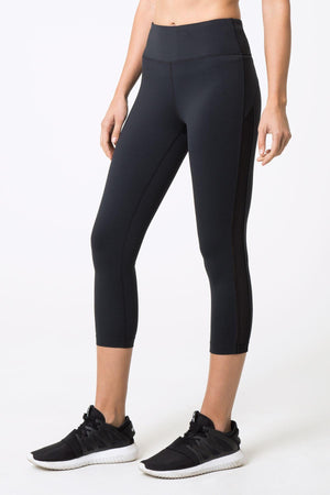Exclusive High Waisted Capri Leggings - Julianne Hough Collection MPG Sport - My Legwear Shop