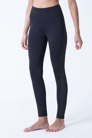 Haven Lazer Cut Mesh Legging - MPG Sport - My Legwear Shop