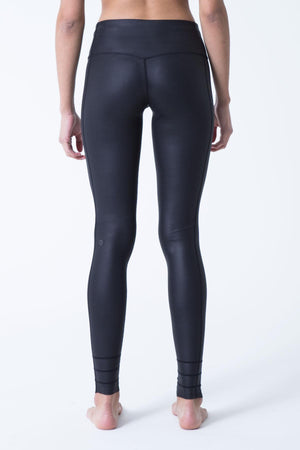 Revitalize Lustrous Wet Look Black Legging - MPG Sport - My Legwear Shop
