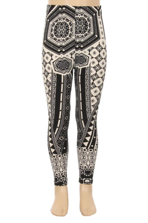 4d586c0a8fe3a Girls Geometric Print Legging - Always - My Legwear Shop