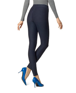 Hue Moto Denim Skimmer Leggings - My Legwear Shop