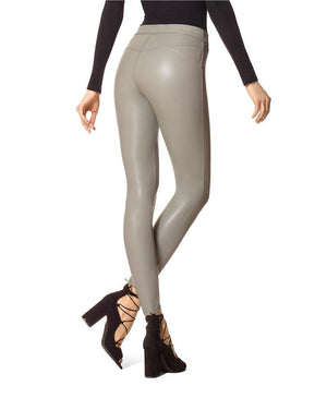 Hue Leatherette Leggings - My Legwear Shop