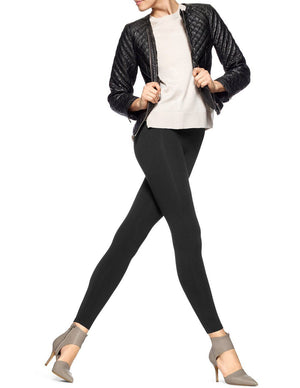 Hue Ultra Tummy Control Cotton Leggings - My Legwear Shop