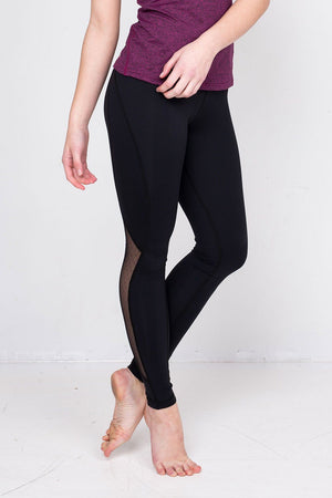 Dot Mesh Retrograde Legging - Tonic Lifestyle Apparel - My Legwear Shop